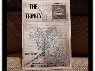 """""""The Trinity"""" Collectible Card #3 (LIMITED EDITION) FREE Shipping World Wide main photo"""