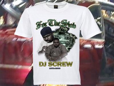 DJ SCREW TRIBUTE TEE (FREE DOMESTIC SHIPPING) main photo