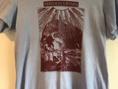 Light blue sun/face women's cut t-shirt main photo