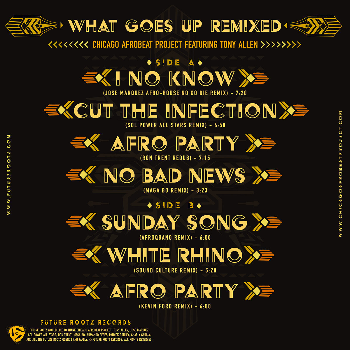 What Goes Up Remixed   Future Rootz