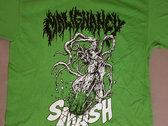 "Malignancy ""SMASH"" shirt photo"