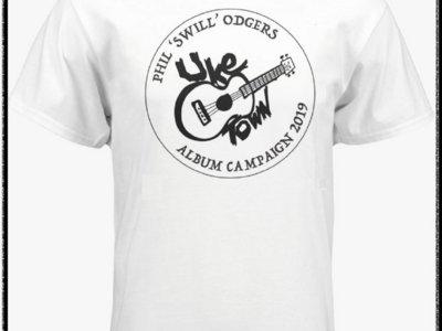 ALBUM FUNDER: Uke Town - White T-shirt main photo