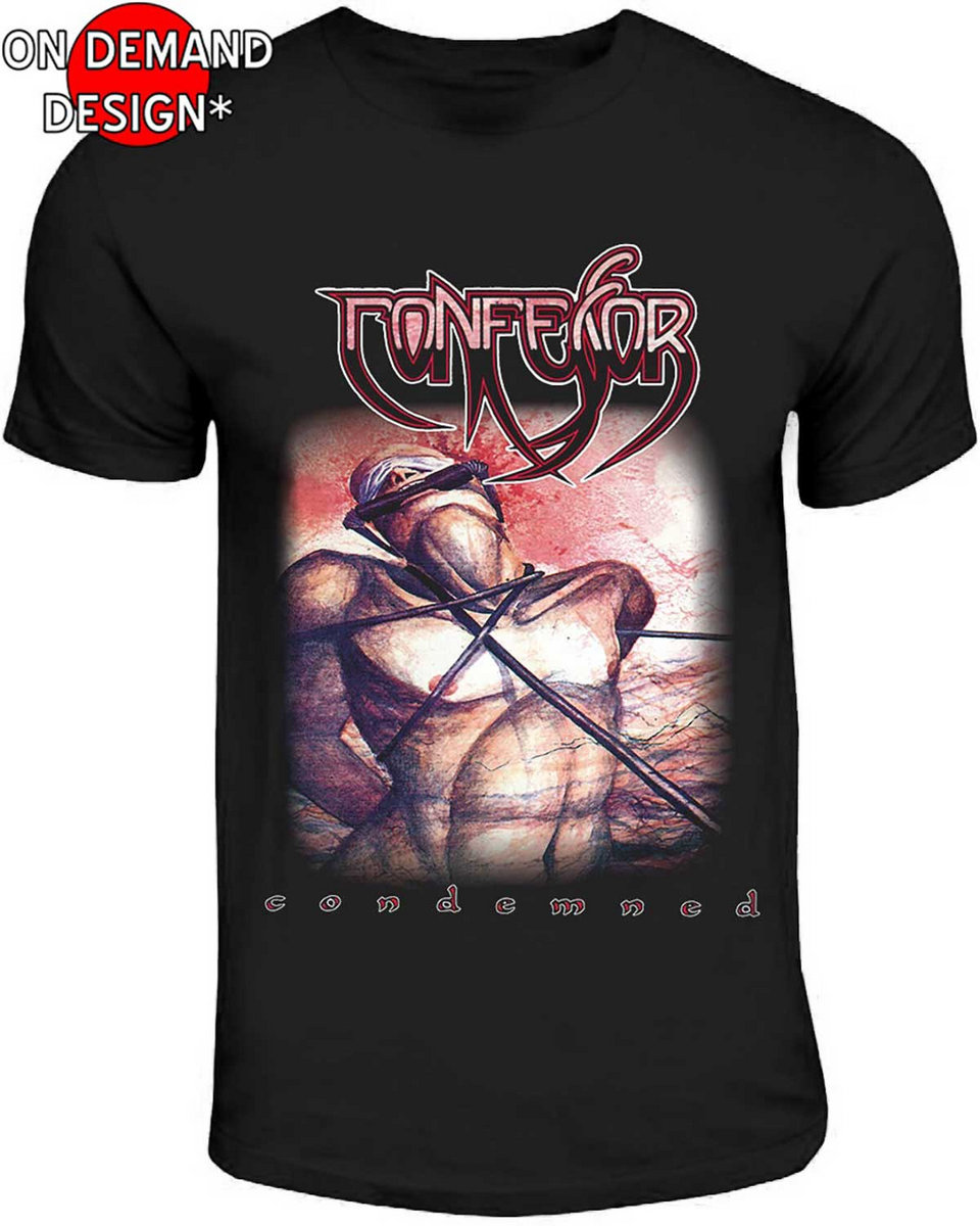 Condemned Short Sleeve T Shirt Print On Demand Confessor