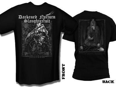 "DARKENED NOCTURN SLAUGHTERCULT ""Mardom"" T-Shirt main photo"