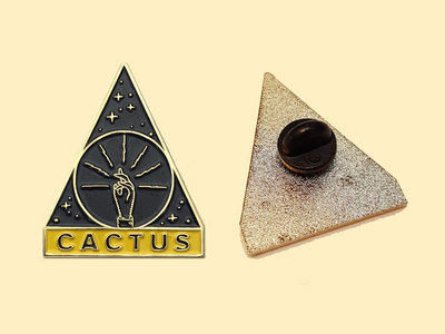 Cactus Records Enamel Pin main photo