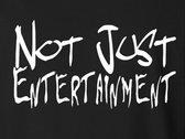 Not Just Entertainment Classic Logo T Shirt photo