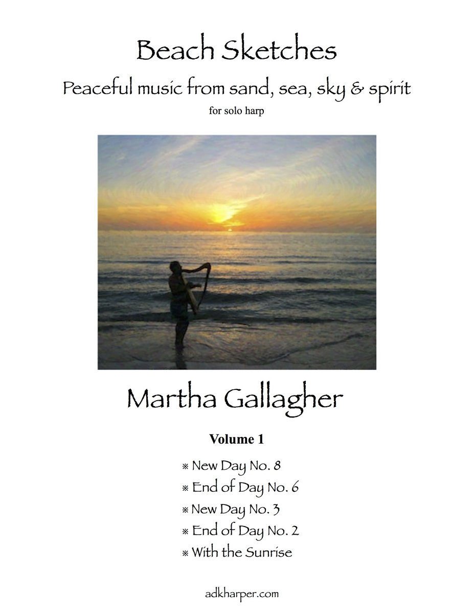 Beach Sketches Vol  1 PDF sheet music book | Martha Gallagher