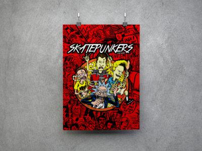 4 Pack Skatepunkers Posters main photo
