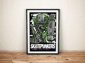 4 Pack Skatepunkers Posters photo