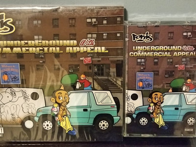 Fokis - Underground With Commercial Appeal (CD + Cassette Bundle) main photo