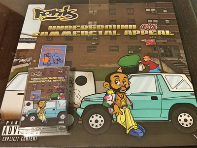 Fokis - Underground With Commercial Appeal (Vinyl + Cassette Bundle) main photo