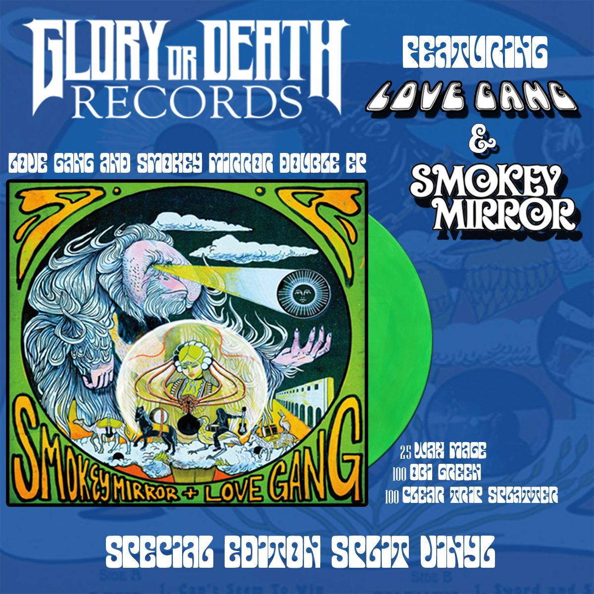 LOVE GANG & SMOKEY MIRROR DOUBLE EP | Glory or Death Records