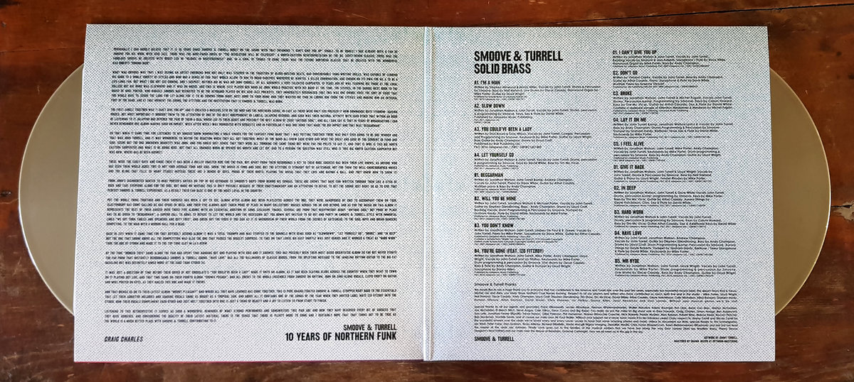 Solid Brass: Ten Years of Northern Funk | Smoove & Turrell