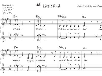 Little Bird - Sheet Music (PDF) main photo