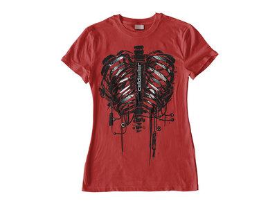 Plated Pulmonary System T-Shirt [Women's Cut] main photo