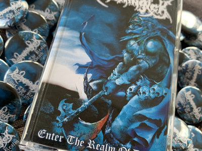 Enter The Realm Of Death (20 years) limited tape + pin/button main photo