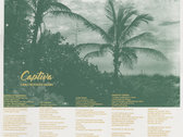 PALMS | Two-color Screenprint Lyric Poster photo