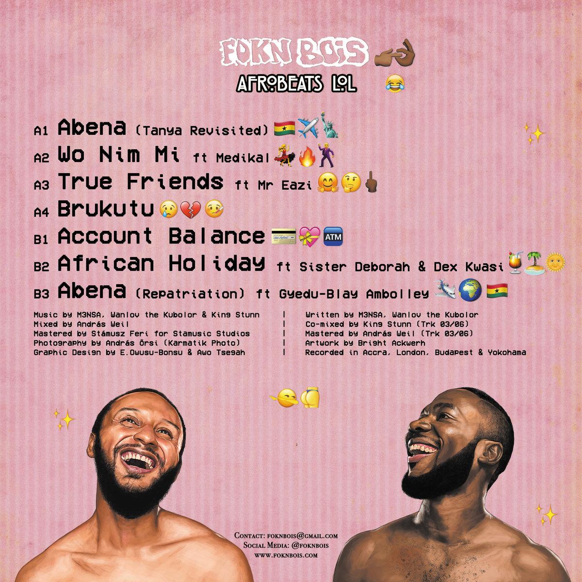 Afrobeats LOL | FOKN Bois