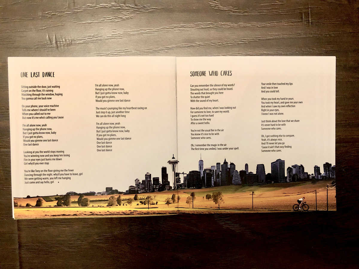 Here We Go - Personalised Lyric Booklet (with FREE ALBUM DOWNLOAD