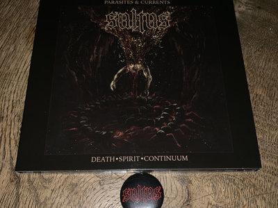 DEATH•SPIRIT•CONTINUUM (CD) + pin/button main photo