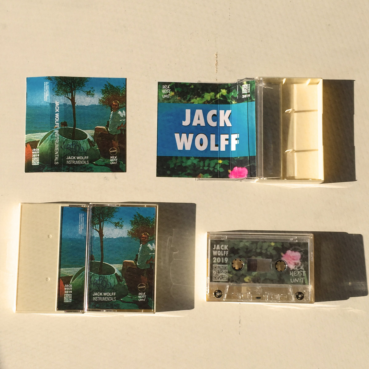 Limited Edition Instrumental Tape   JACK WOLFF