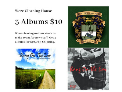 3 Albums For $10.00 main photo