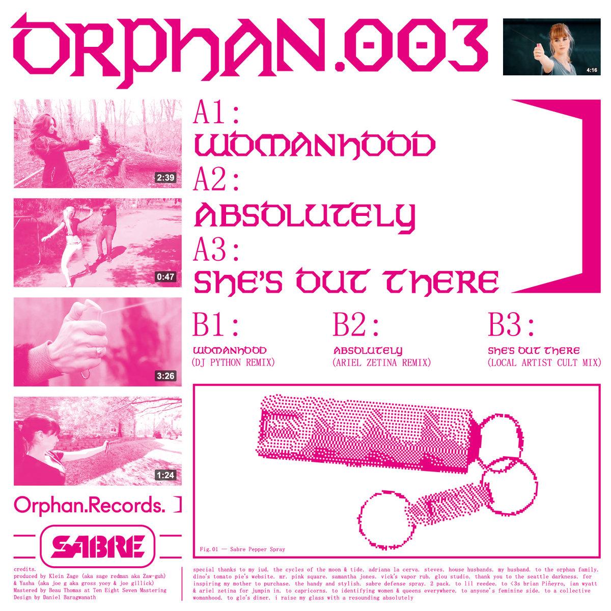 Womanhood EP | Orphan  Records