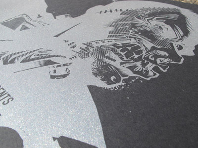 Stitches EP Release - Screen Printed Poster main photo