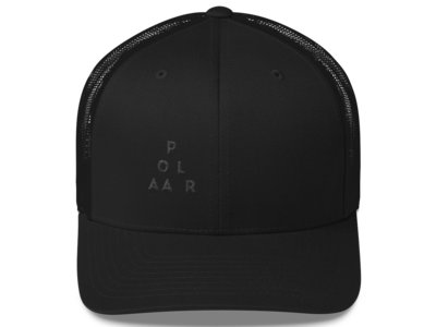 Black on Black YUPOONG Mesh Cap main photo