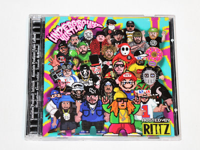 UGH67 Hosted By RITTZ (CD) Double Album main photo