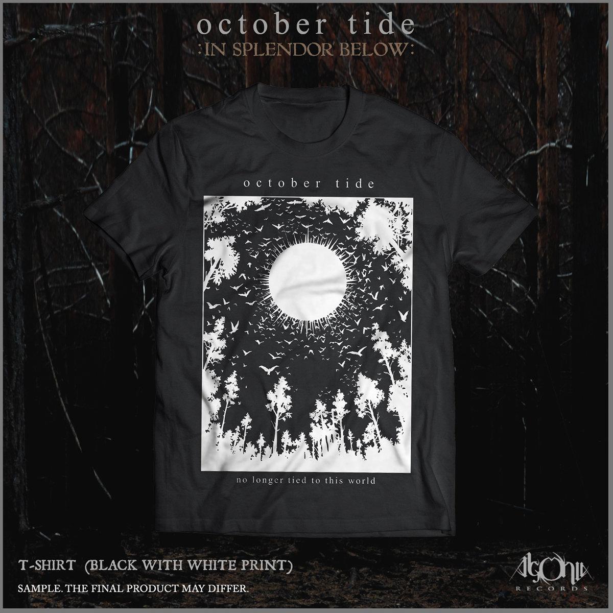 09f7d2b8572fe1 October Tide - In Splendor Below T-shirt