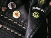 Hellripper - Logo (Metal Enamel Pin) photo