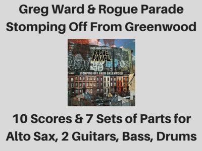 Greg Ward & Rogue Parade | Stomping Off From Greenwood album | 10 Scores & 7 Sets of Parts (PDF) main photo