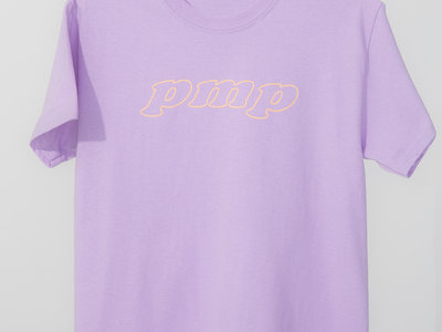 T-shirt coton mauve main photo