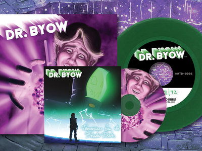 "Transmissions from the Shadow Realm CD, 7"" Vinyl and Dr. Byow #1 Comic Book main photo"