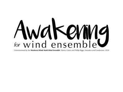 Awakening for Wind Ensemble (full score and parts) main photo
