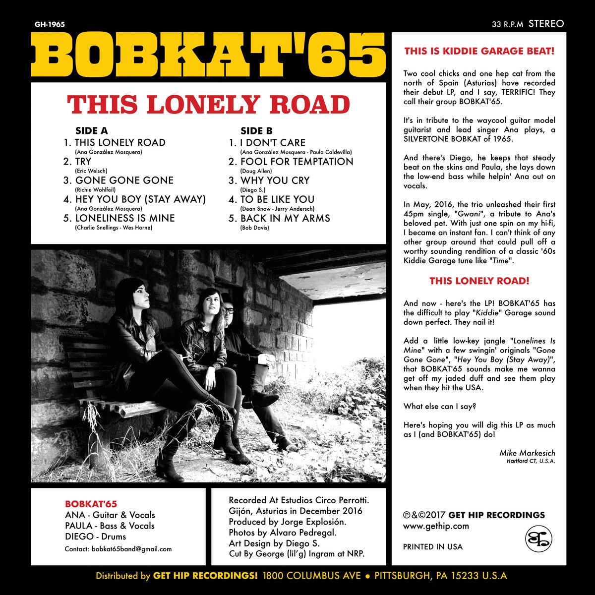 Bobkat'65 - This Lonely Road | BOBKAT'65