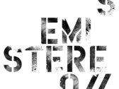 Zabriskii Logo Grey on Black T-shirt [+free UNFAMILIAR download] photo