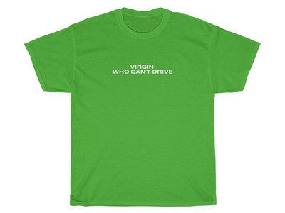 """Virgin Who Can't Drive"" Shirt main photo"