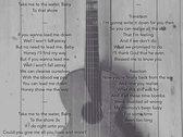 Lyrics Booklet photo