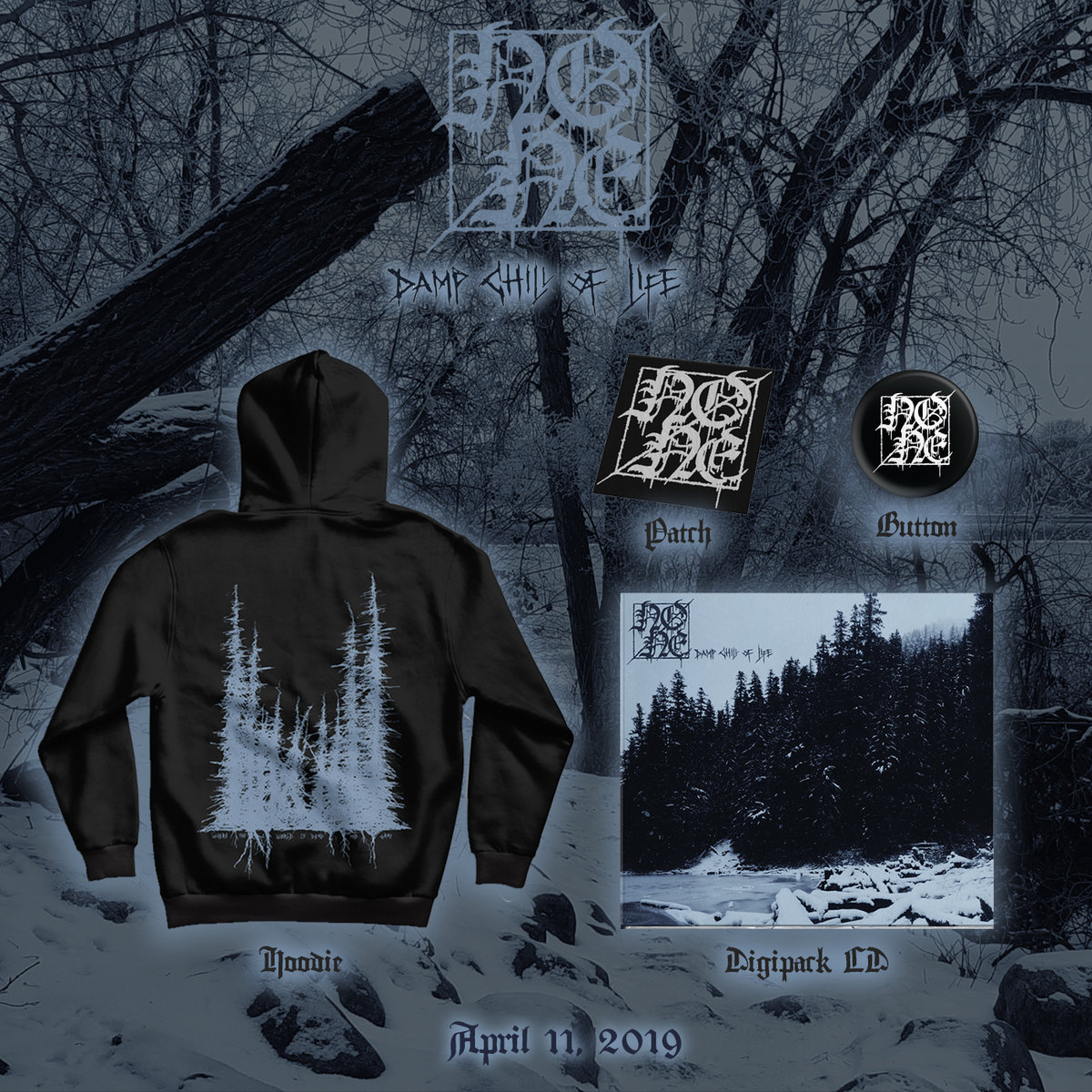 Damp Chill of Life | Hypnotic Dirge Records