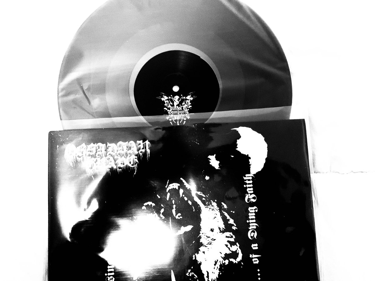 Afbeeldingsresultaat voor Obsidian Grave / Unholy Vampyric Slaughter Sect – Lupine Musings Of A Dying Faith