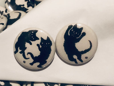 FRANK THE CAT BUTTON 2 PACK main photo
