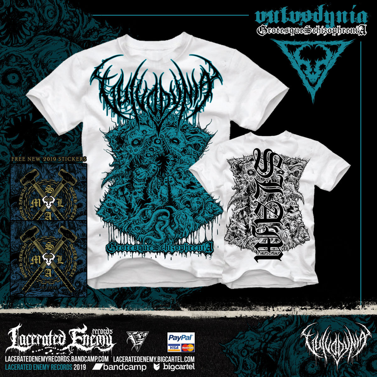Flesh Tailor   Lacerated Enemy records