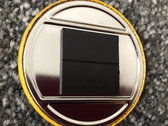 Yellow logo magnet photo