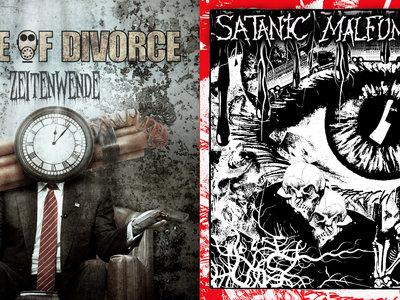 Satanic Malfunctions / Cause of Divorce split CD (CC008) main photo