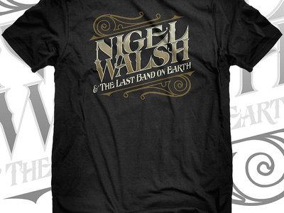 Original vintage-style Nigel Walsh & The Last Band on Earth T-shirt main photo