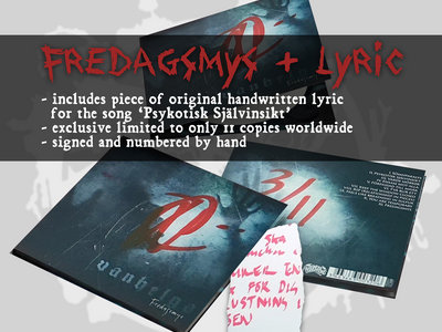 Fredagsmys + lyric [limited to 11 copies] main photo