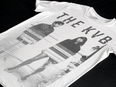 The KVB 'Glitch' White T-Shirt main photo