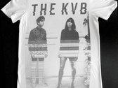 The KVB 'Glitch' White T-Shirt photo